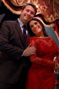 Ivan e Regina Inauguração Expo SP